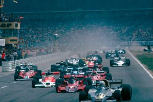 1977 German Grand Prix Start by F1-history