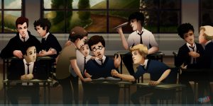 Welcome to La Schola by pirate-pet