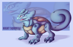 Night Squirtle by Green-Nightingale