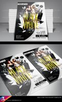 Black and White Party Flyer Template by AnotherBcreation