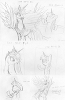 Random Pony Sketches by ZSparkonequus