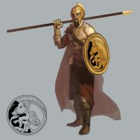 Champion of Ares by Fleret