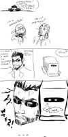 Boxes and Christian Reeves by DanteDemolition