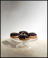 Blueberry patries by MiniatureChef