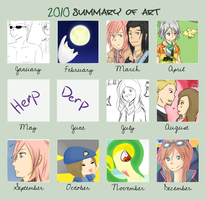 2010 SUMMARY OF ART by Athena-Sazuki