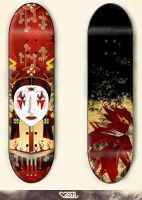 queen_bird on the skatboard by eliothelover