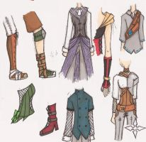 Steampunk Clothing Dump by kaiyu-chan