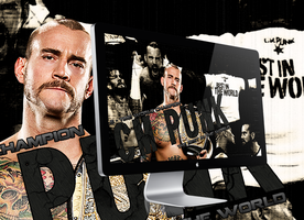 CM Punk Wallpaper 2 by Claine89