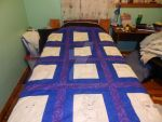 ANIME QUILT ALMOST DONE! by AnnaRing1