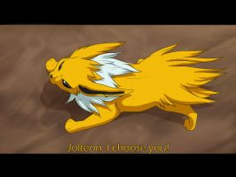 Jolteon by AnnieHyena