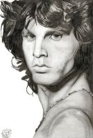 Jim Morrison by urfavoriteartist