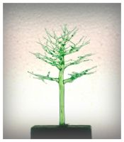 WIP green glass tree by ivan12