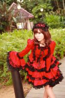 Lolita - Elegant Red by Xeno-Photography