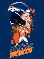 Peyton Manning by kgreene