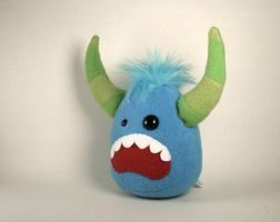 Murray the Monster Plushie by Saint-Angel