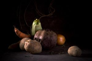 Simple Vegetables by Lestrovoy