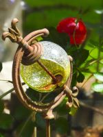 Broken Bauble by JamesInDigital
