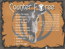 Counter Force back cover by countevil
