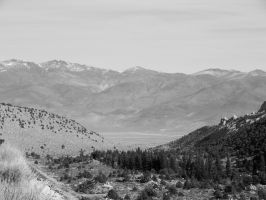 Bishop Creek Valley Lacking In Color by bowencormac