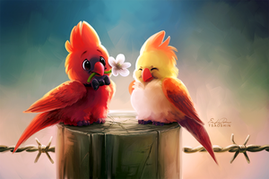 Cardinals by TsaoShin