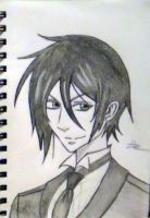 Sebastian from Black Bulter by Anikeyjimmy