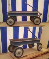 old handcart by two-ladies-stocks