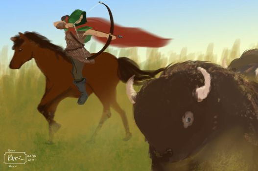 Bison Hunt - 40 Minutes by PersianArcher
