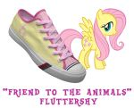 Fluttershy shoes by DoctorRedBird