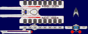 USS Andrew Johnson AU TOS Multi-View by captshade