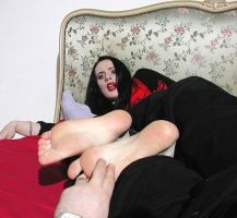 Gothic Soles Tickled 5 by jason9800player2