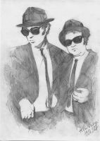 Blues Brothers by TomekO