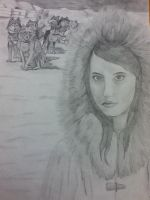 Me an Eskimo and My Dogs by LeanaeffaY