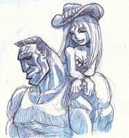 brittle and the brute by Drago-the-Dark-Klown