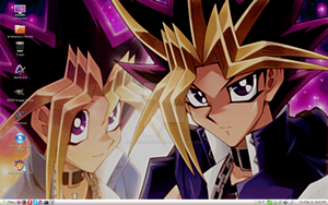 YGO Arc-V Special - Yami and Yugi - Linux Mint by PharaohAtisLioness