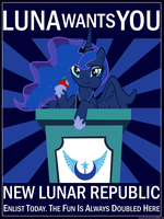Join the New Lunar Republic by LazyPixel