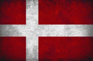 Denmark Grunge Flag by scotty16050