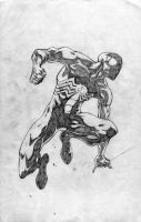 Blacksuit Spidey by bobbett