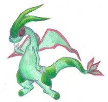 Traper the Flygon by Proshi