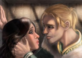 commish - anders and hawke by alecyl