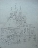 The church by Cunami-in-october