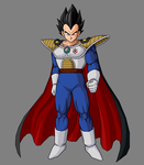 Vegeta The King by SuperBooney