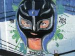 rey misterio graffiti by troeks