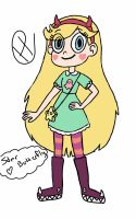 star butterfly by love-art-girl-22