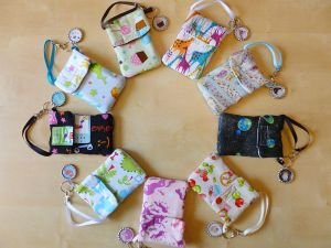 Assorted Original Fabric Purselets by Monostache