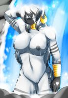 Zecora Bathing in the Everfree 2 by marikazemus34