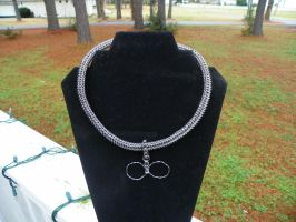 Titanium Rope Necklace W/Infinity *Commison* by ydoc16
