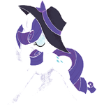 My Little Pony - Smooth Rarity by kaizerin
