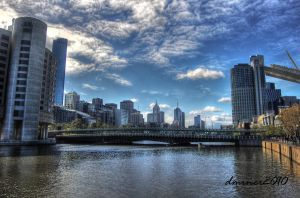 Yarra River City by DanielleMiner