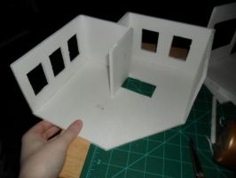 Les Shoppes Dollhouse Project: WIP 2 by kayanah