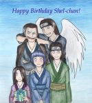Happy Birthday Shel-chan by Huudel